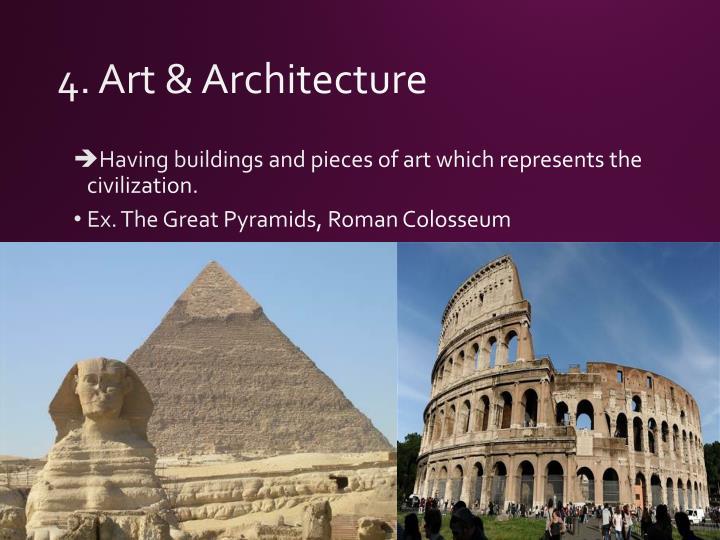 4. Art & Architecture
