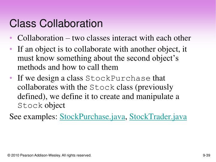 Class Collaboration