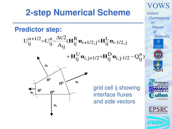 2-step Numerical Scheme