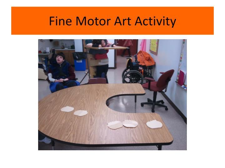 Fine Motor Art Activity