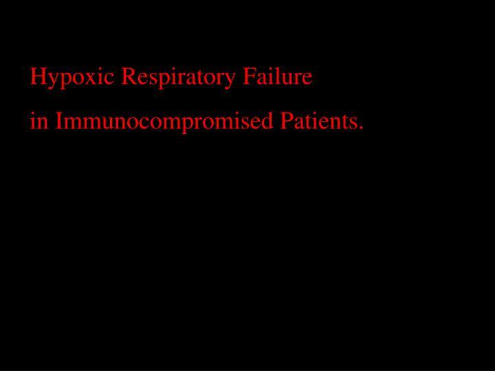 Hypoxic