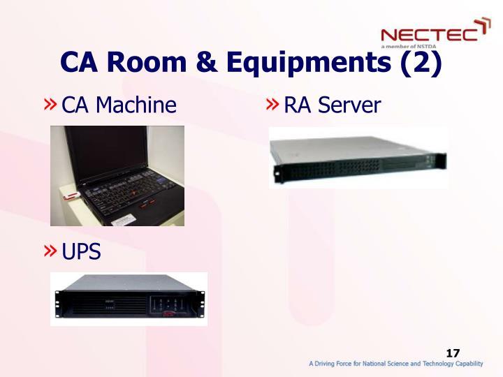 CA Room & Equipments (2)