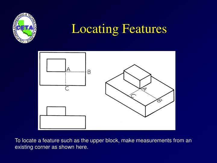 Locating Features