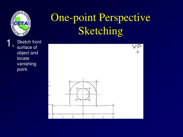 One-point Perspective Sketching