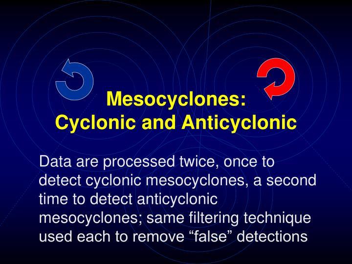 Mesocyclones: