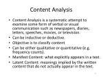 content analysis1