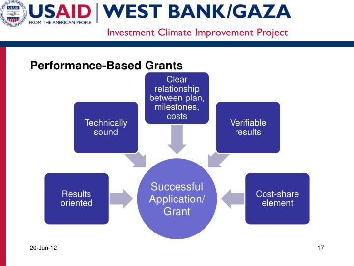 Performance-Based Grants