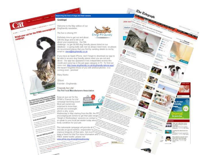 Online Press Coverage