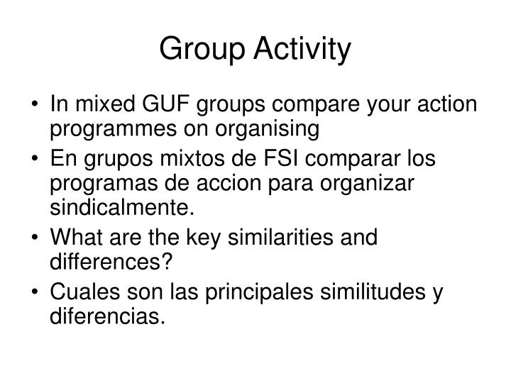 Group activity1