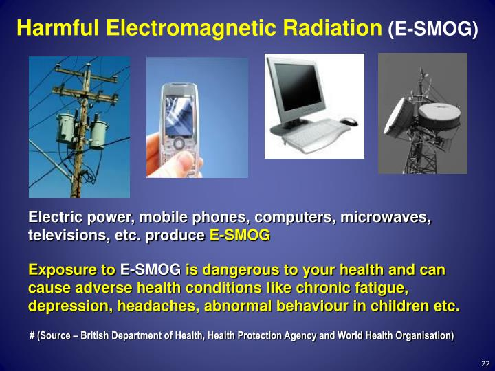 Harmful Electromagnetic Radiation