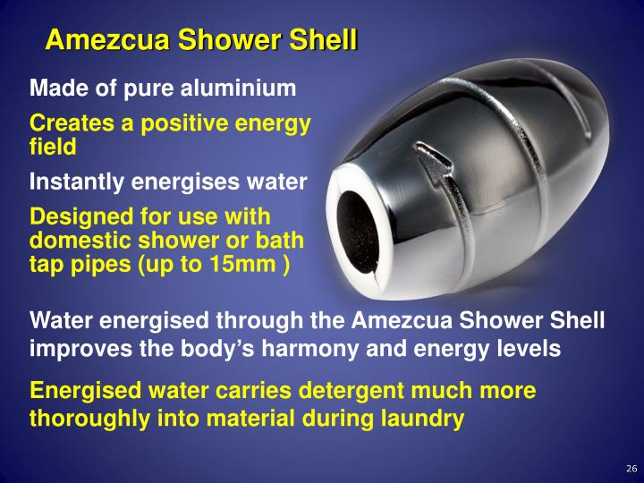 Amezcua Shower Shell