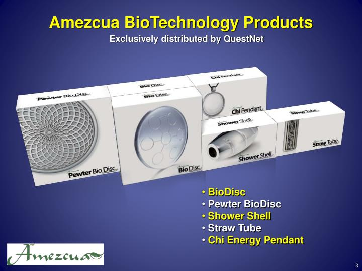 Amezcua BioTechnology Products