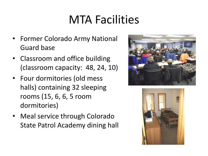 MTA Facilities
