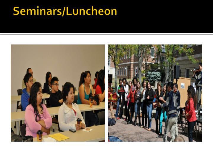 Seminars/Luncheon
