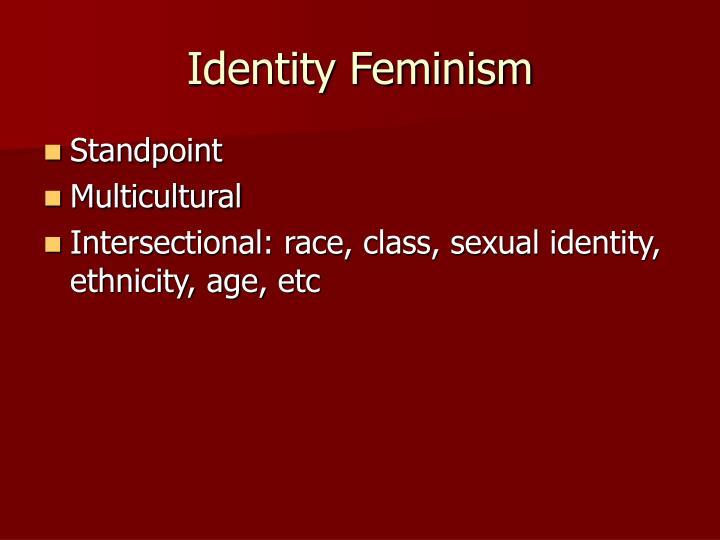 Identity Feminism