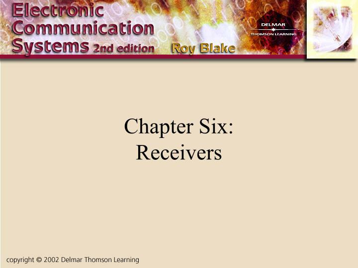 chapter six receivers n.