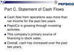 part c statement of cash flows