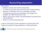 accounting separation1
