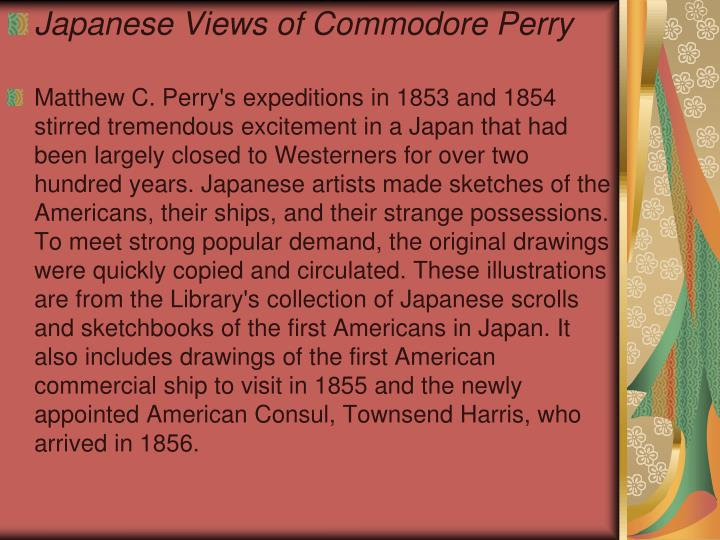 Japanese Views of Commodore Perry