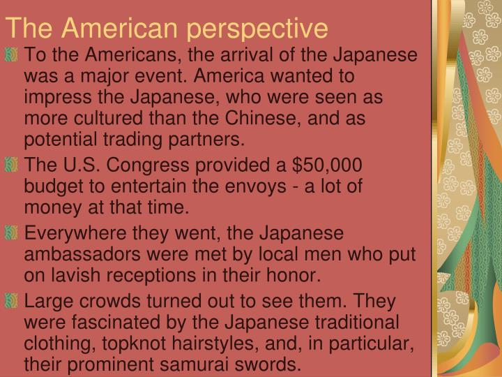 The American perspective