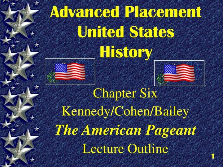 Advanced placement united states history