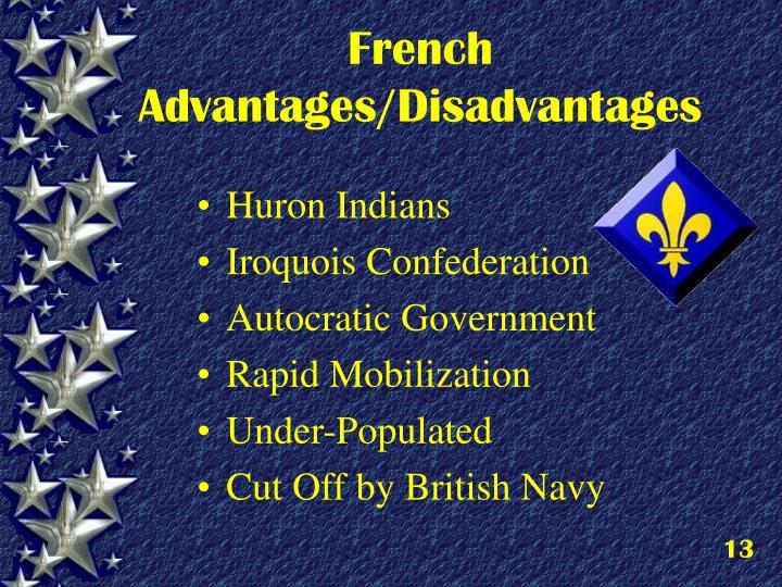 French Advantages/Disadvantages