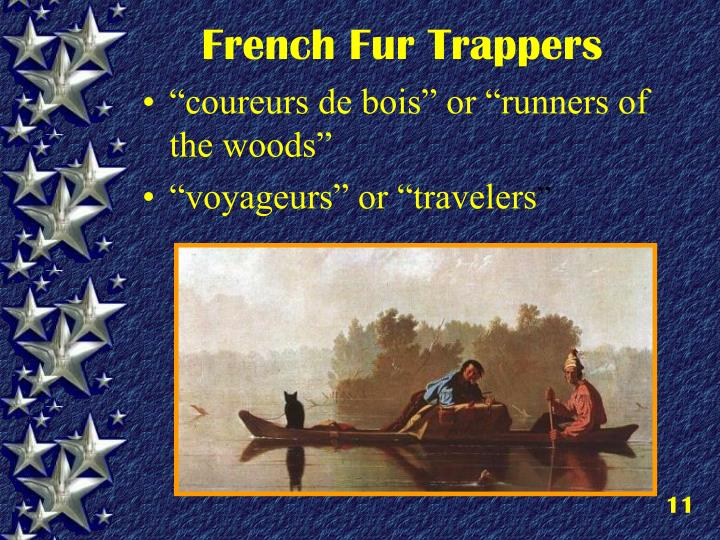 French Fur Trappers