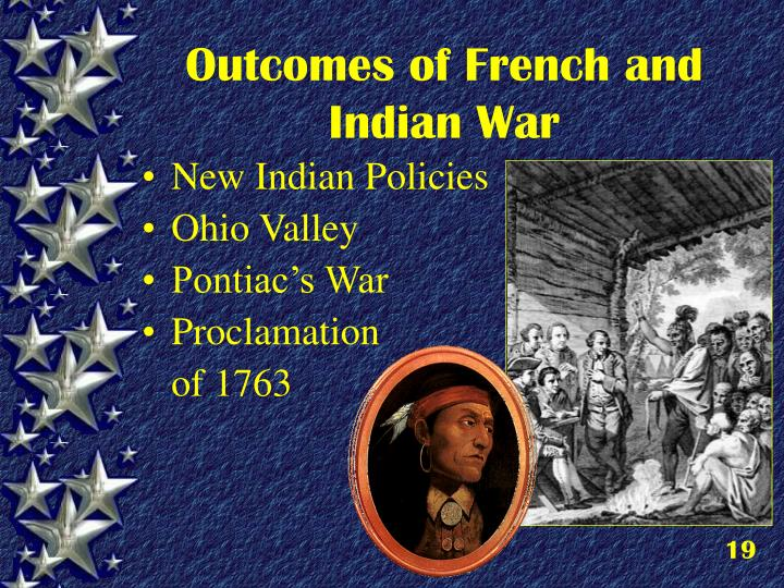 Outcomes of French and Indian War