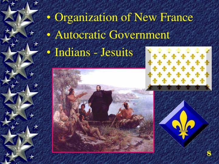 Organization of New France