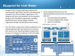 blueprint for irish water