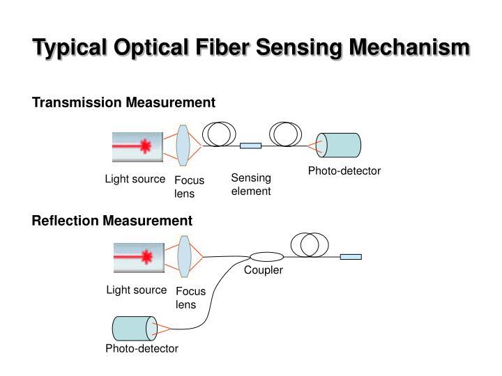 Typical Optical Fiber Sensing Mechanism