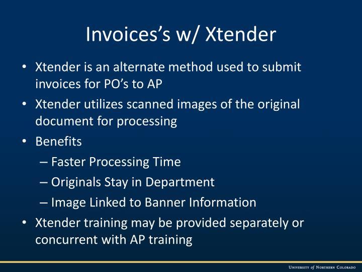 Invoices's