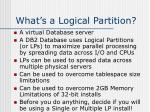 what s a logical partition