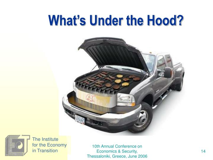 What's Under the Hood?