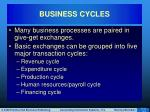 business cycles2