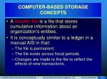computer based storage concepts7