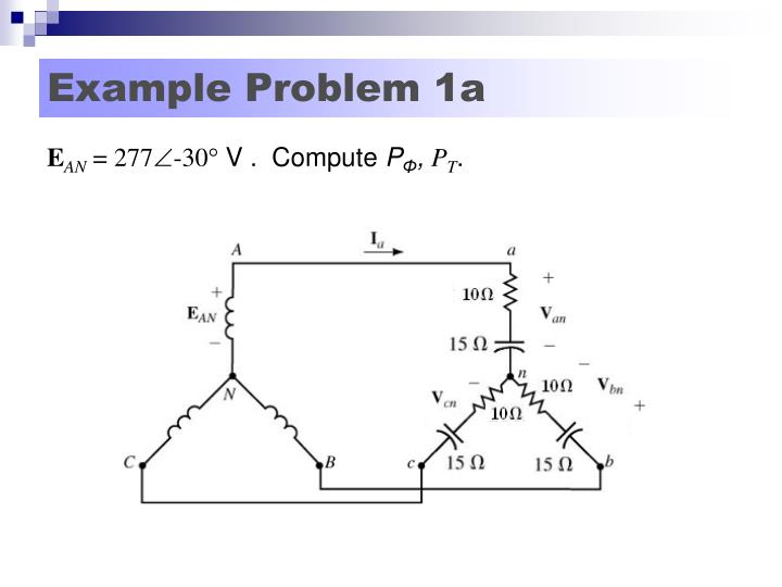 Example Problem 1a