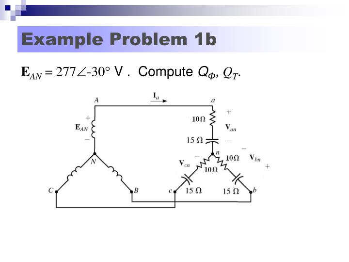Example Problem 1b