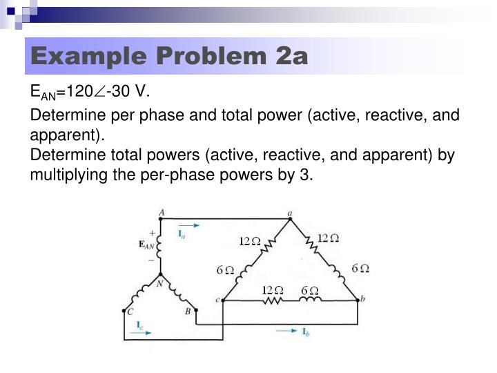 Example Problem 2a