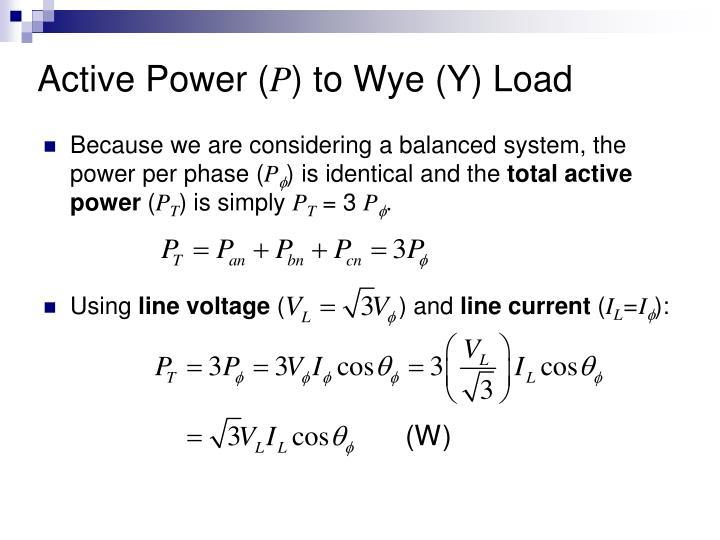 Active Power (