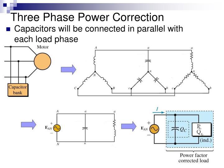 Three Phase Power Correction