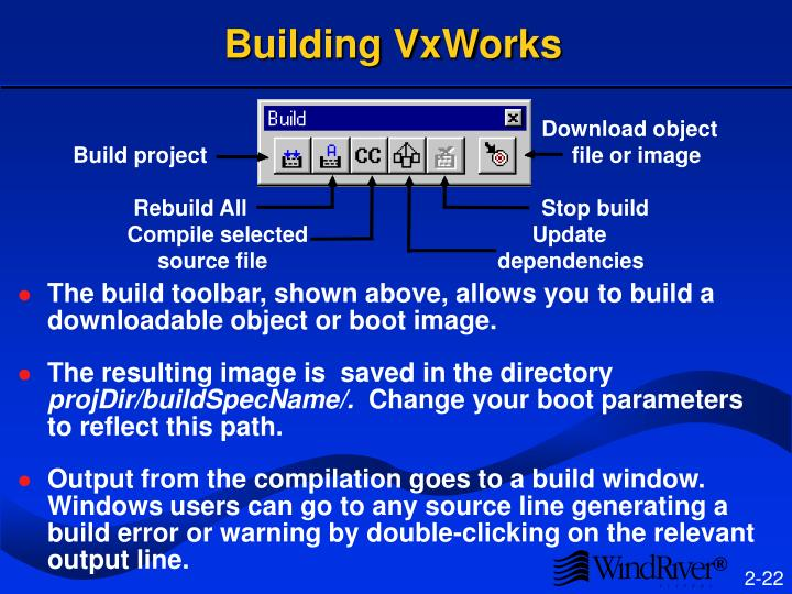 Building VxWorks