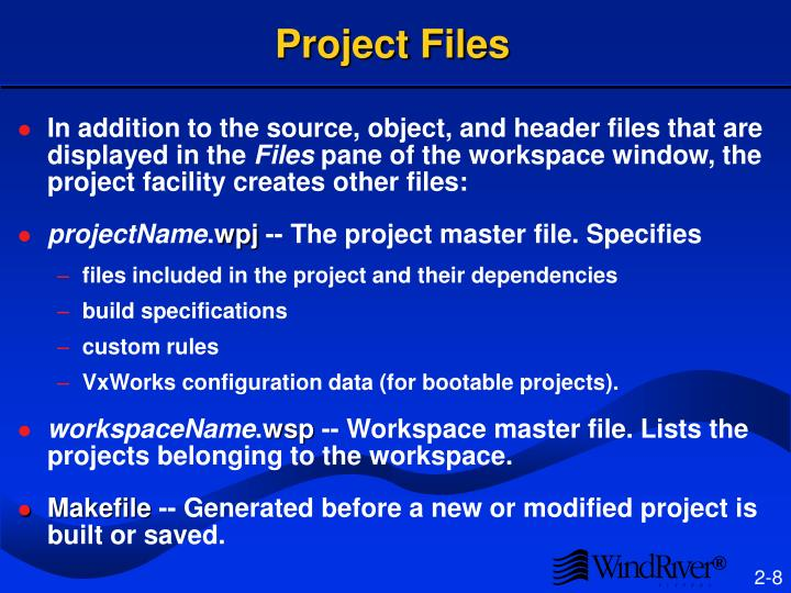 Project Files