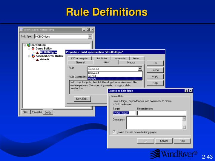 Rule Definitions