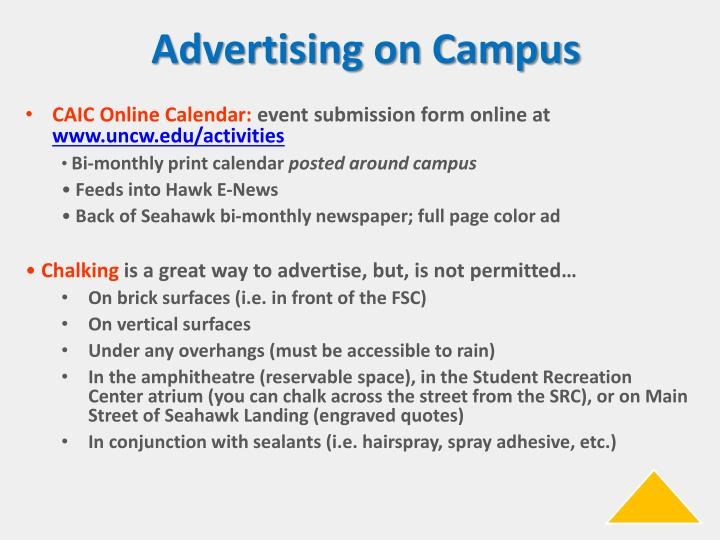 Advertising on Campus