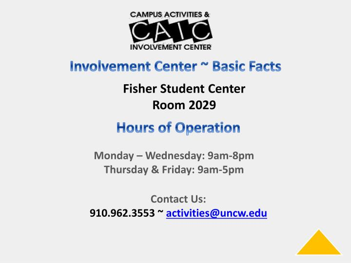 Fisher Student Center