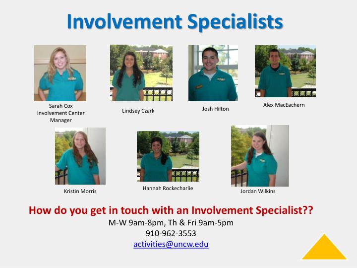 Involvement Specialists
