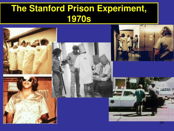 The Stanford Prison Experiment, 1970s