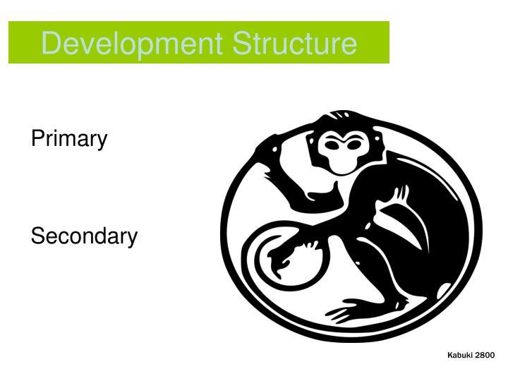 Development Structure