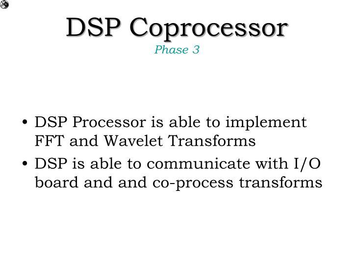 DSP Coprocessor